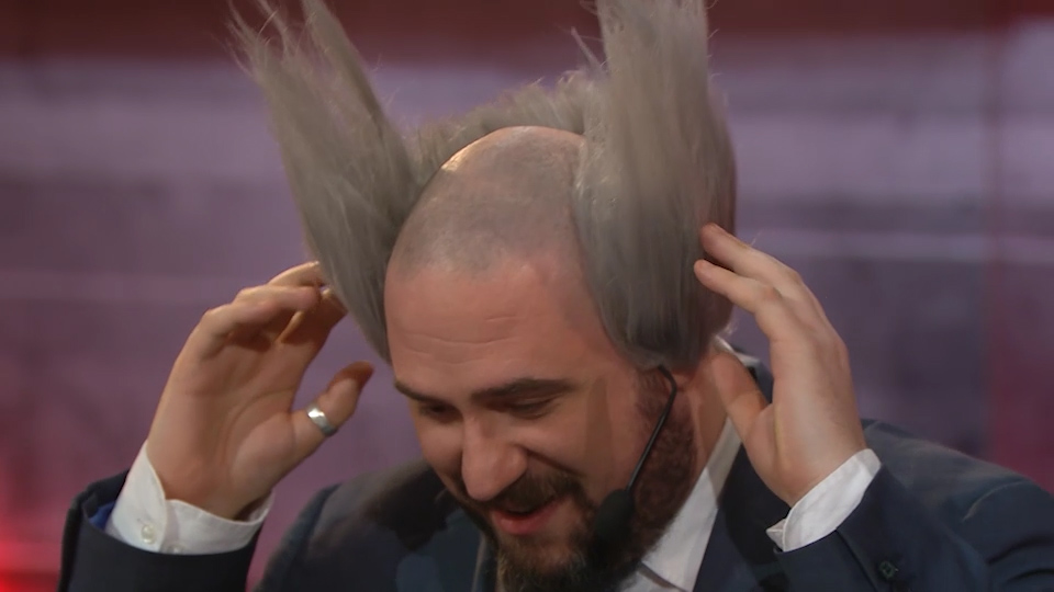 Richard Lewis' Heihachi hair | Boost Mobile Switch Moment
