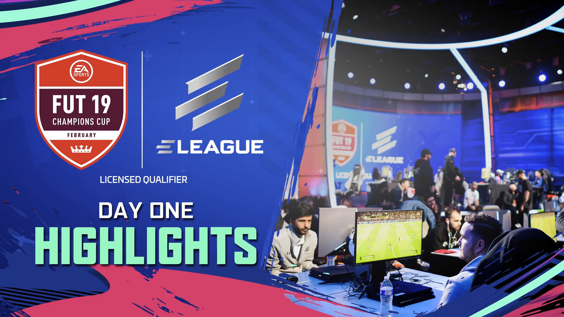 ELEAGUE FUT Champions Cup February Day 1 Highlights