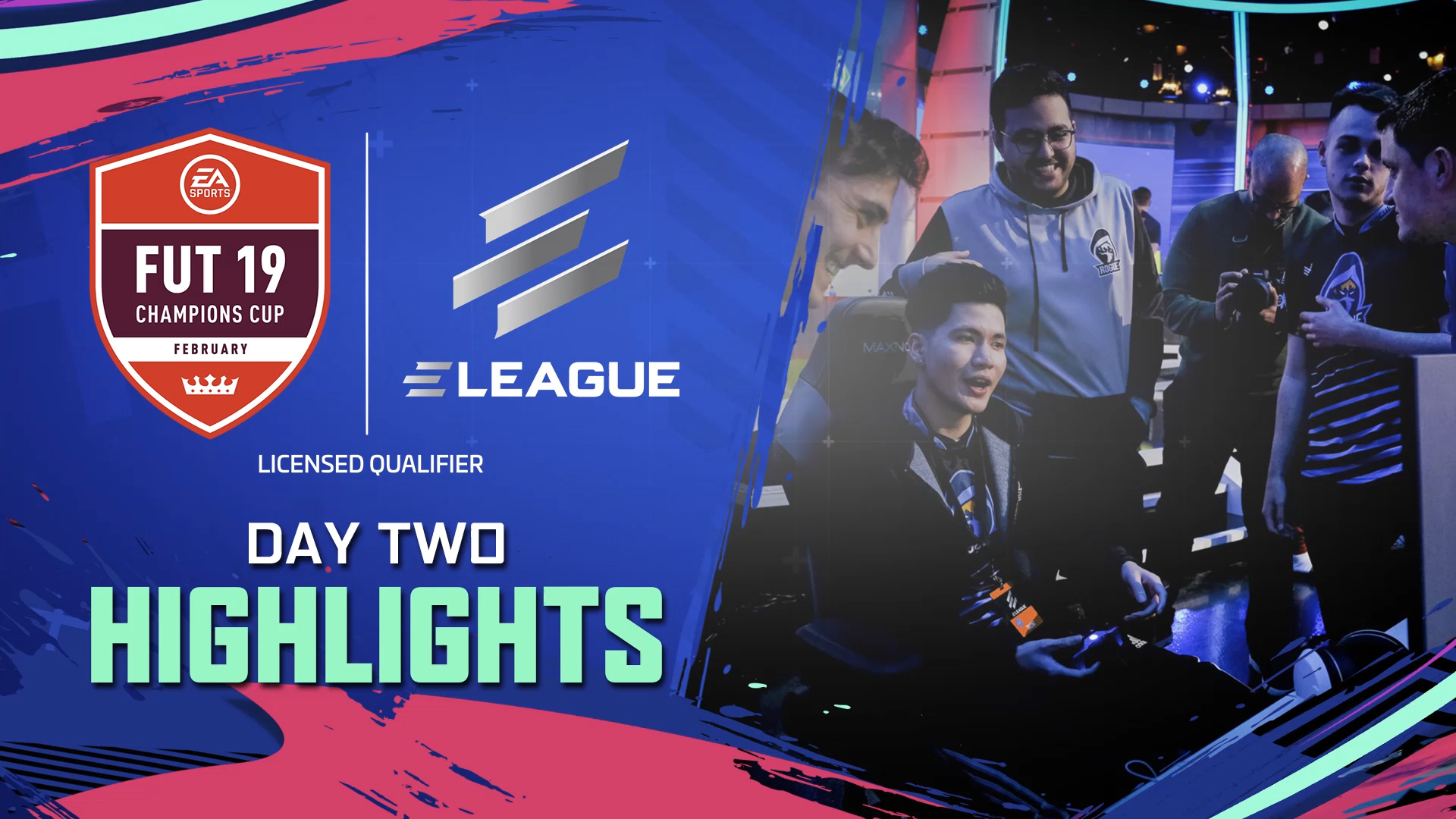 ELEAGUE FUT Champions Cup February Day 2 Highlights