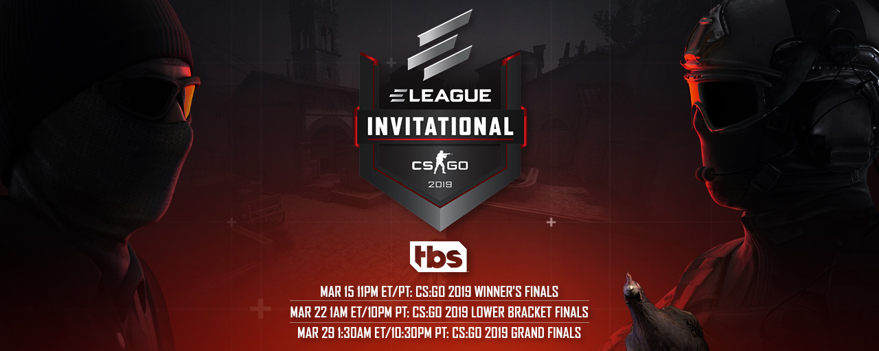CS:GO Invitational 2019 Watch on TBS T1 HP