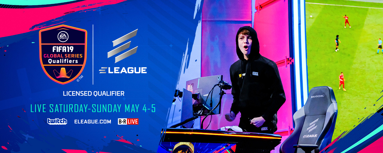 ELEAGUE FIFA 19 CUP home page T1