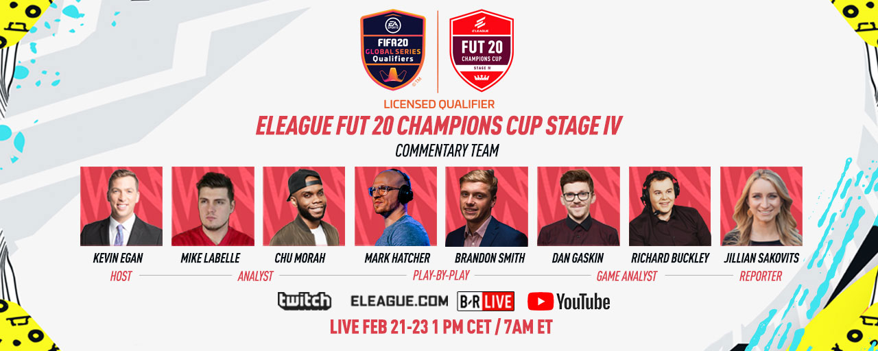 FIFA 20 CUP STAGE IV Commentary Team HP T1