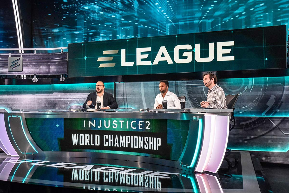 ELEAGUE Injustice 2 Group B