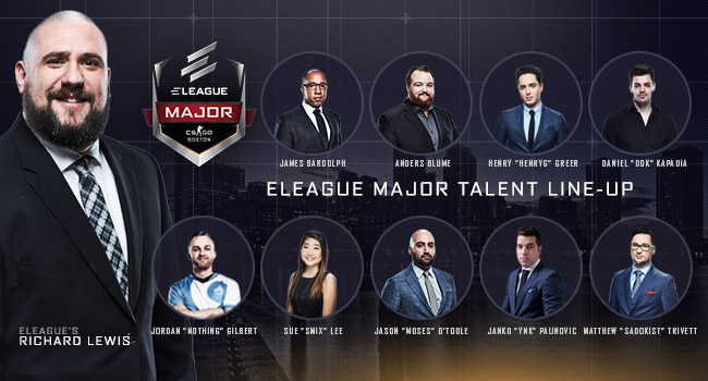 talent announcement